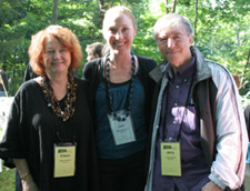 Eileen Spinelli, Jaimi Anderson and Jerry Spinelli.