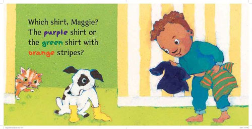 Michael and Maggie Get Dressed,