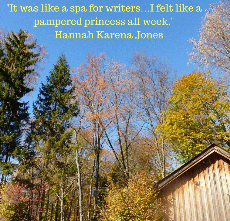 A spa for writers