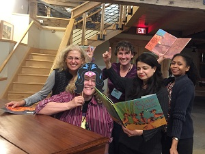 Wonder Woman Denise Fleming and her fellow artists.