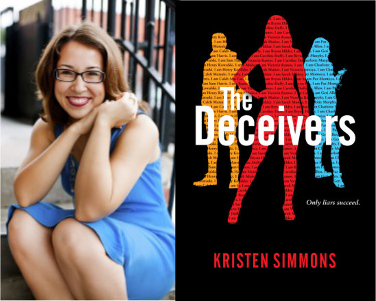 Kristen Simmons and book
