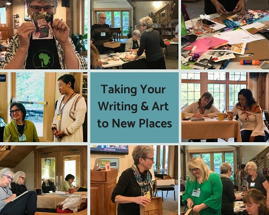 Taking Your Writing & Art to New Places 2018