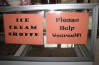 Did we mention free ice cream, 24/7?!