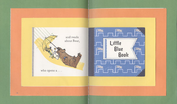From Open This Little Book by Jesse Klausmeier and illustrated by Suzy Lee