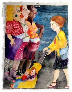 Art from the Vera Williams Exhibit