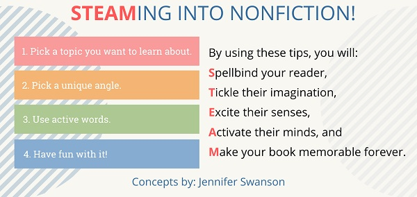STEAMING into Nonfiction