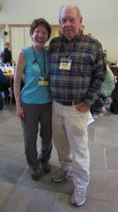 Kathy Erskine and Kent Brown