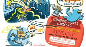 graphic novels by merrill rainey