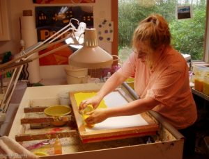 Denise Fleming at work