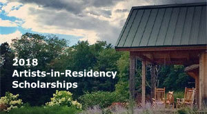 2018 Artist-in-Residency Scholarships