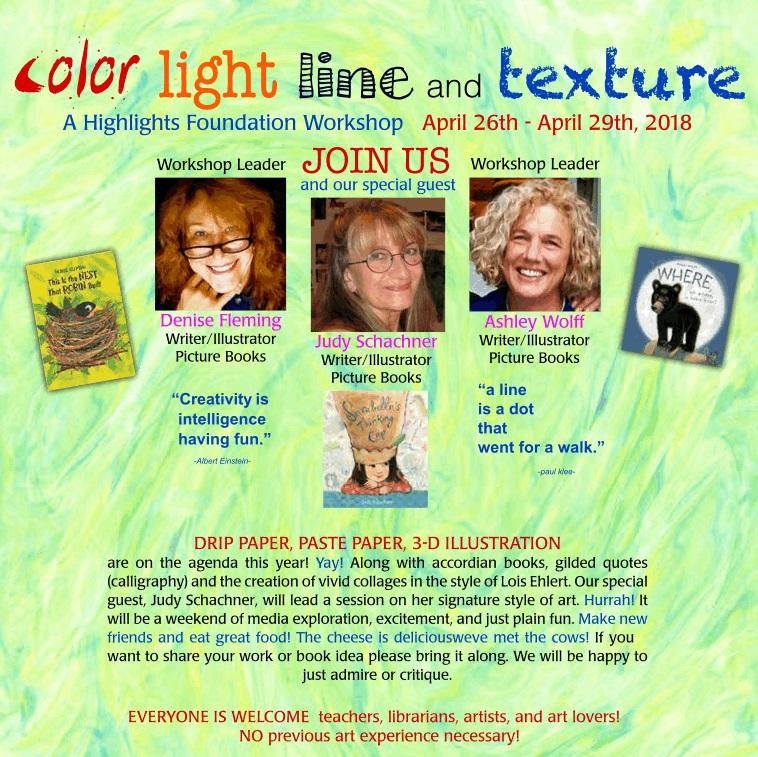 Color, Light, Line & Texture