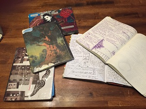 Ashley's source notebooks