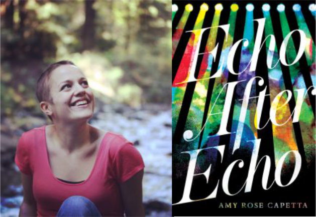 Amy Rose Capetta and book