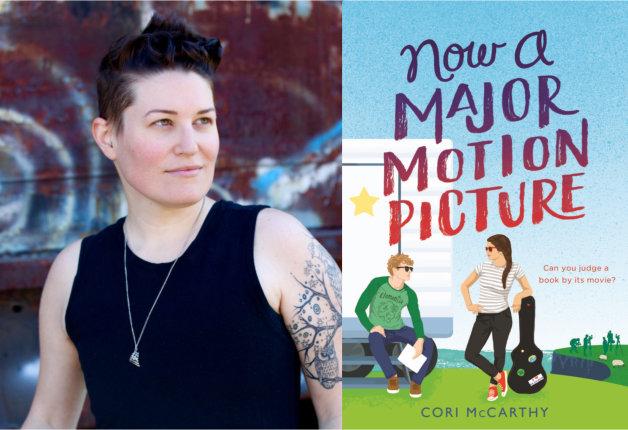 Cori McCarthy and book