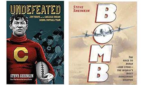 Books by Steve Sheinkin