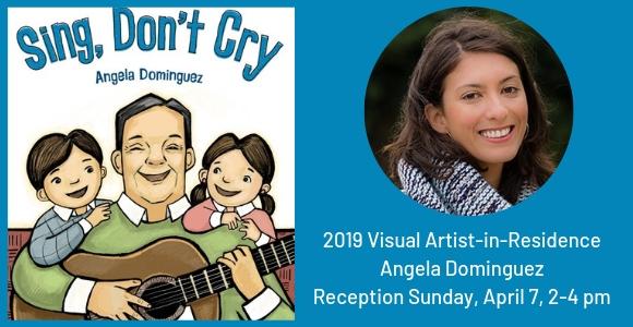 Angela Dominguez, 2019 Visual Artist-in-Residence