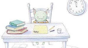 cat desk