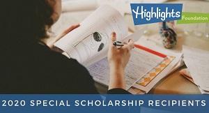 2020 special scholarship recipients