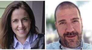 Nicole Valentine and Rob Costello