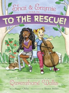 SHAI AND EMMIE STAR IN TO THE RESCUE!