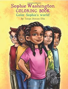 Sophie Washington: Coloring Book