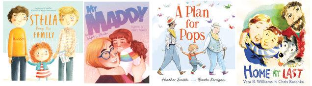 Books about LGBTQIA+ families