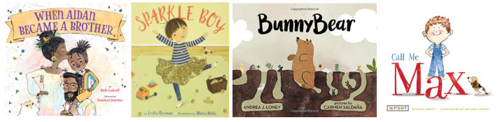 Picture Books about the gender spectrum