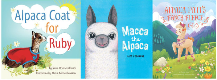 Alpaca picture books
