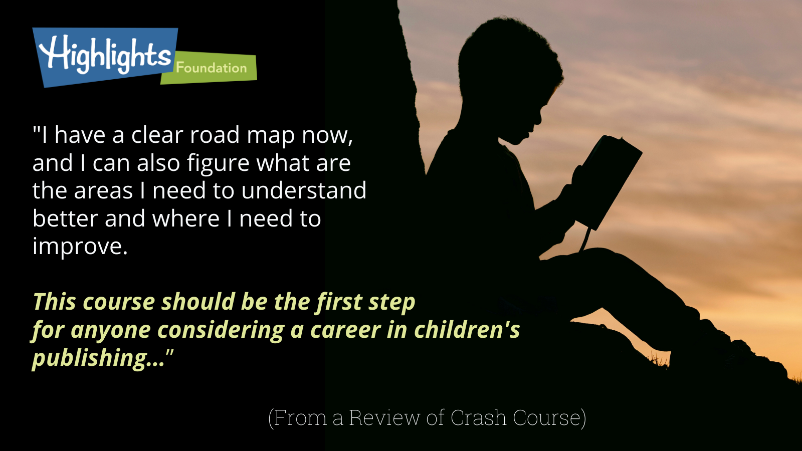 Crash Course for Children's Writers