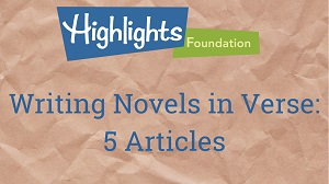 Writing Novels in Verse