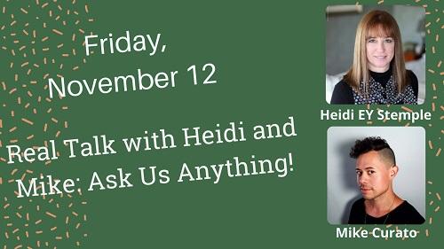Nov 12 Heidi EY Stemple, Mike Curato